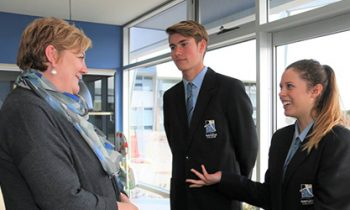 Helen visits the young people of Port Lincoln