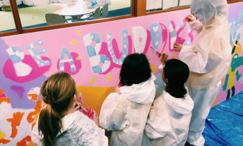 Elizabeth Grove Primary Students Idea to 'Be a buddy not a bully'