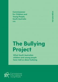 green bullying project poster