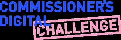 digital challenge blue and pink logo