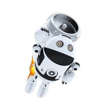 robot flying