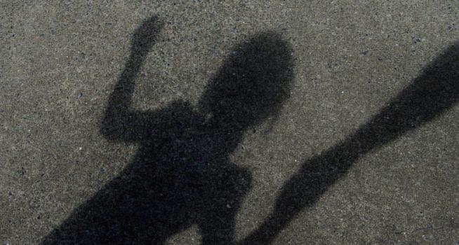 shadow of girl