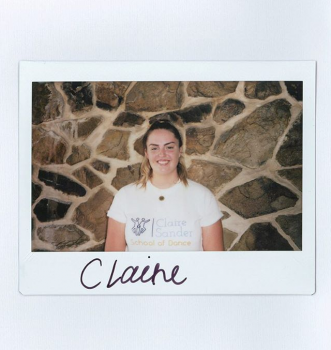 polaroid of claire