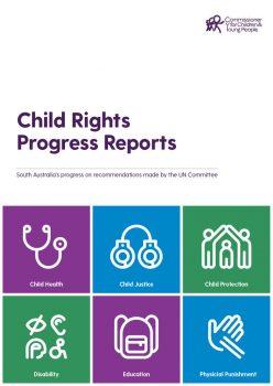 Progress report cover