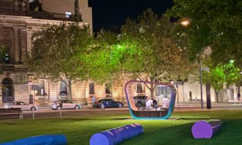 'Welcoming Spaces for Young People' Launches in Victoria Square Tarntanyangga