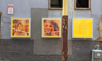 Young People reflect on COVID-19 in a new Street Art Exhibition throughout Adelaide CBD