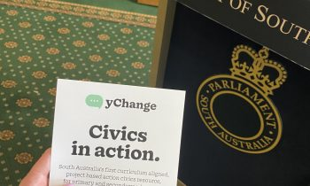 yChange launched at Parliament House during SA Youth Week (2-9 May)